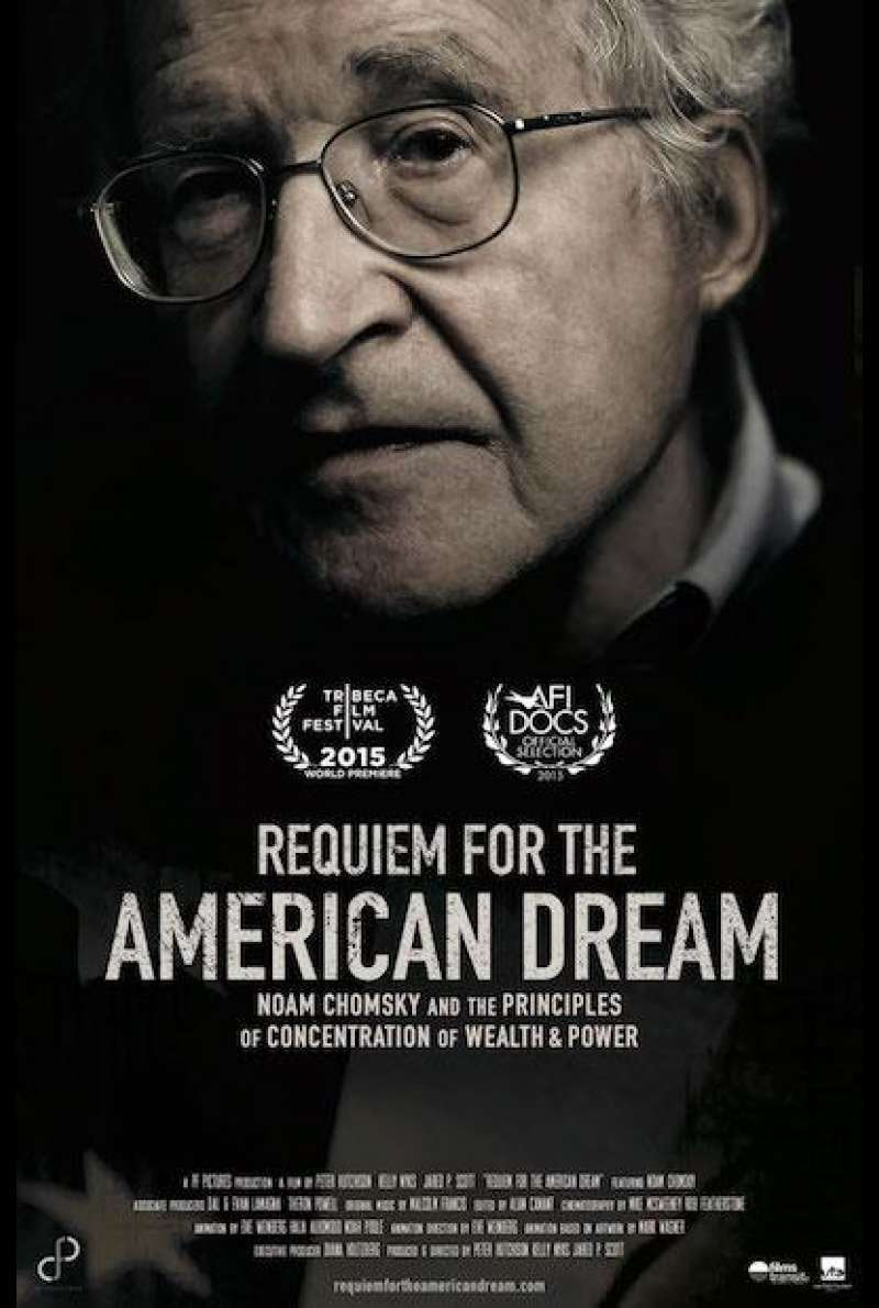 Requiem For the American Dream - Filmplakat (US)