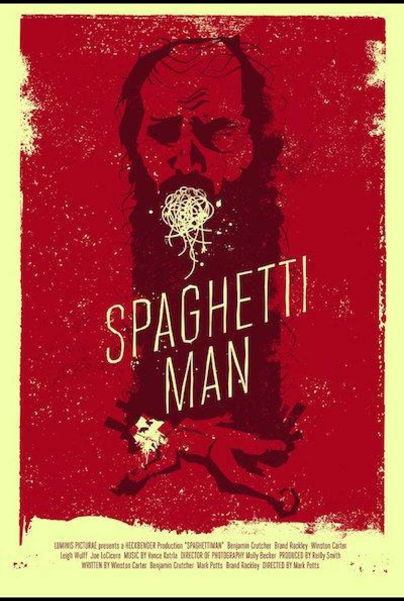 Spaghettiman von Mark Potts - Filmplakat (US)