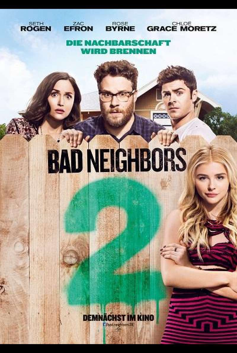 Bad Neighbors 2 - Filmplakat