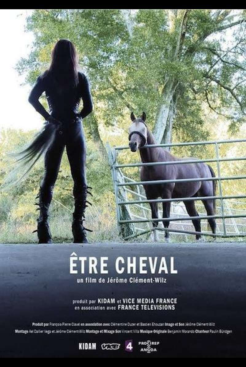 Horse-Being - Filmplakat (FRA)