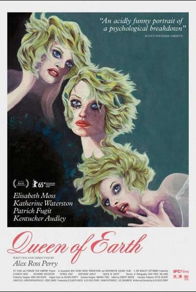 Queen of Earth - Filmplakat 2 (US)