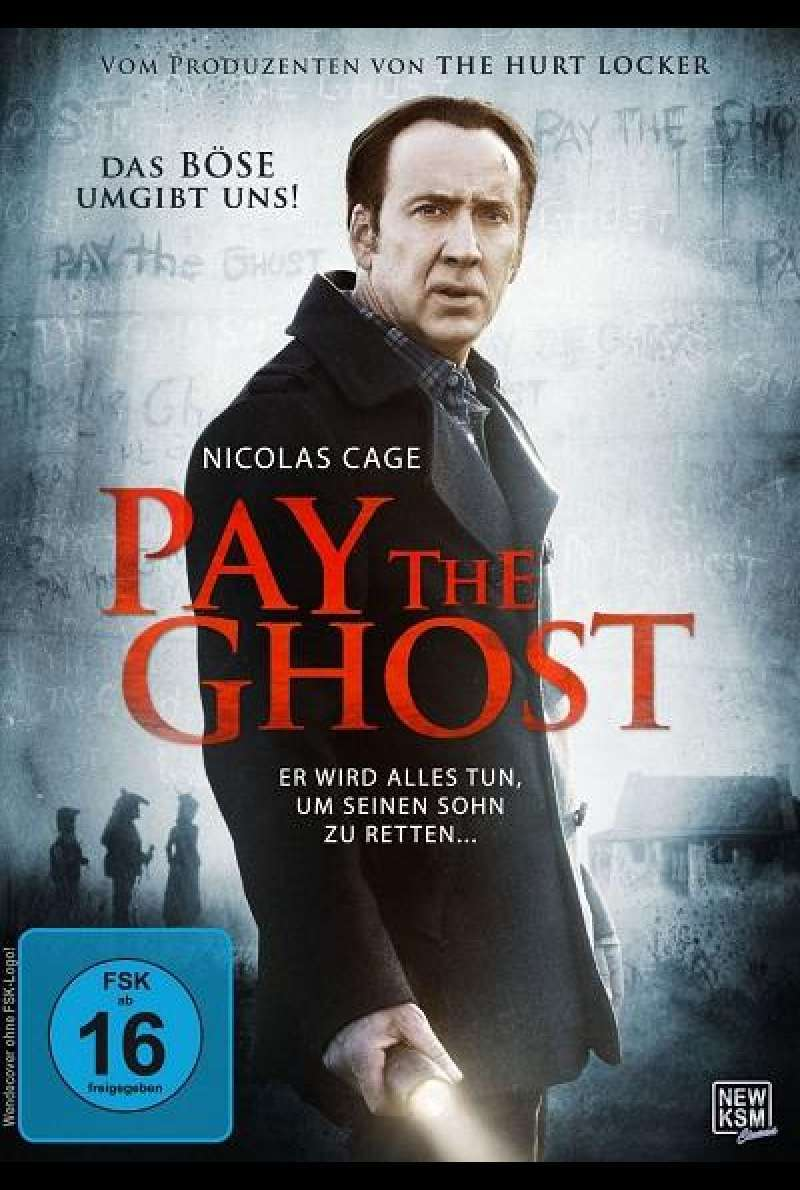 Pay the Ghost - DVD-Cover