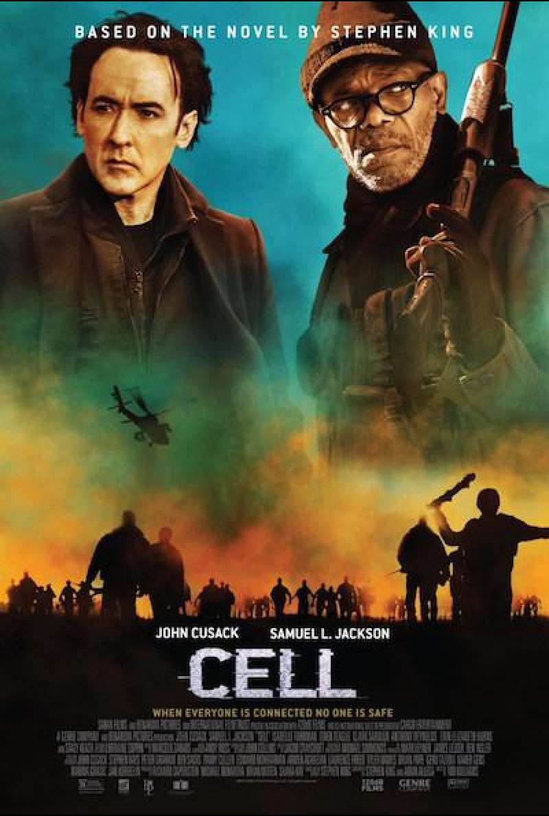 Cell von Todd Williams - Filmplakat (US)