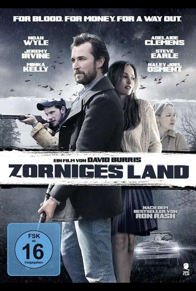 Zorniges Land - DVD-Cover