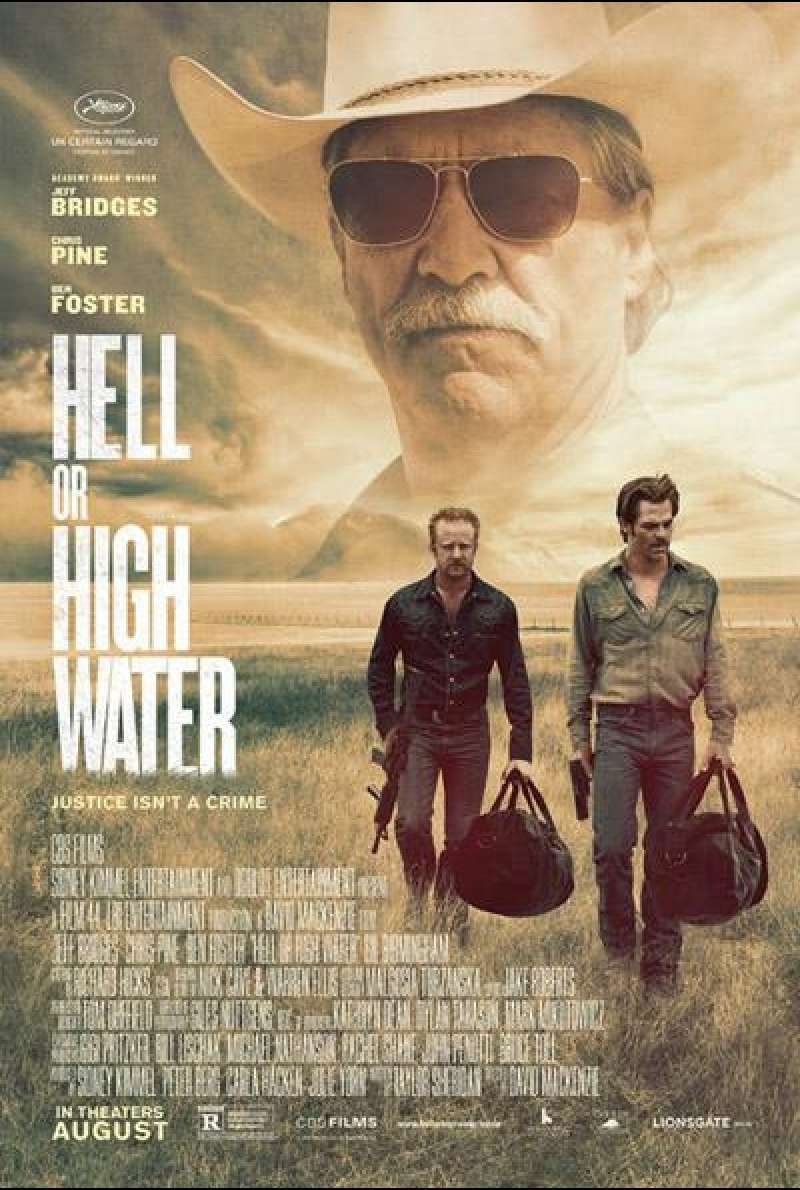 Hell or High Water von David McKenzie - Filmplakat
