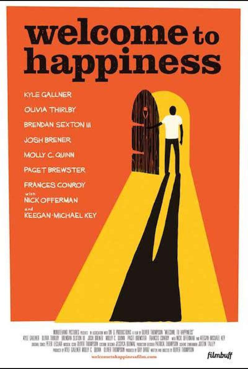 Welcome to Happiness von Lover Thompson - Filmplakat