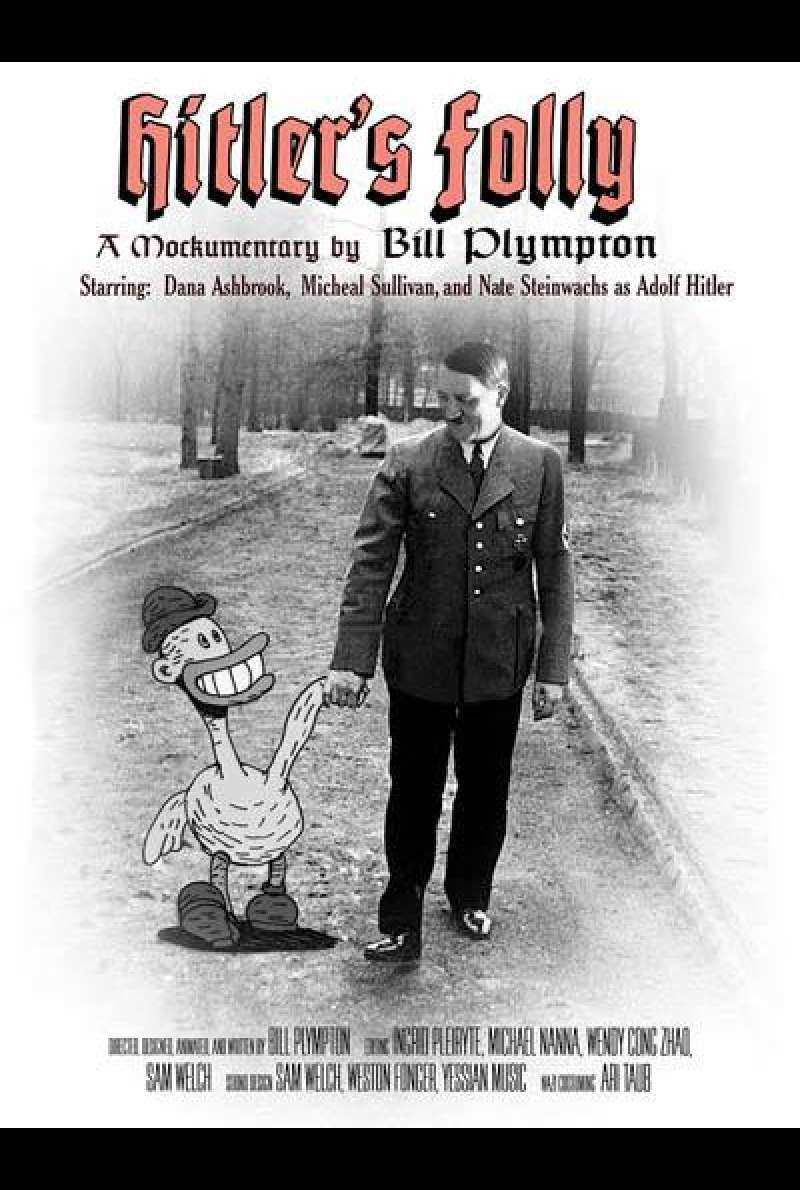 Hitler's Folly von Bill Plympton - Filmplakat