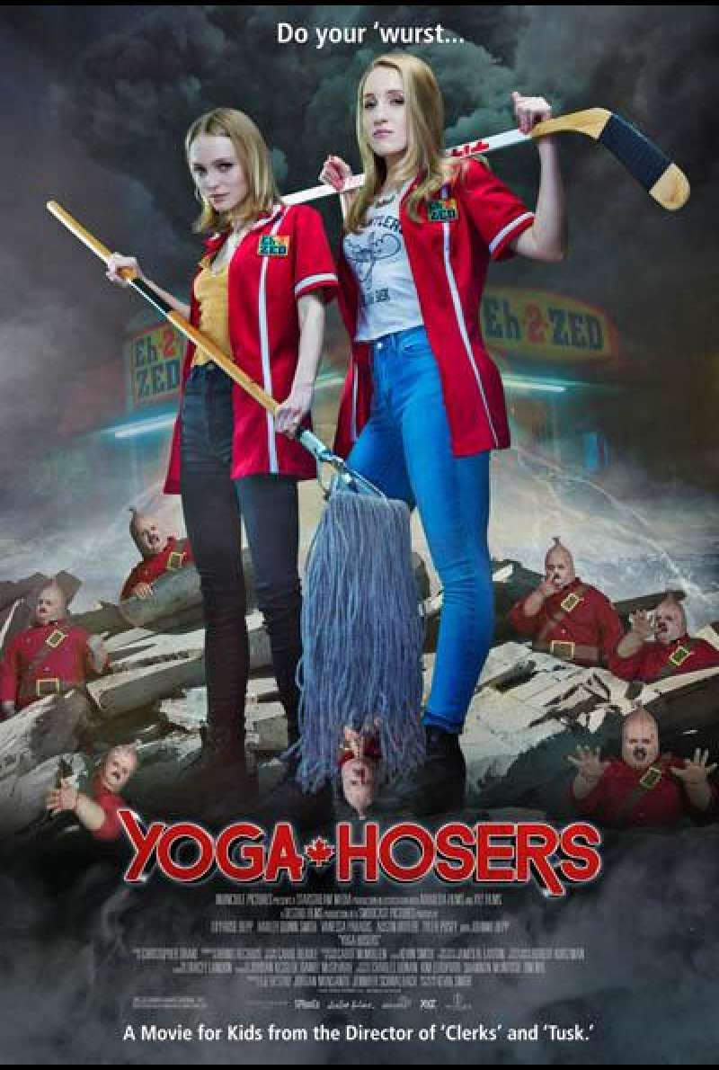 Yoga Hosers von Kevin Smith - Filmplakat 2