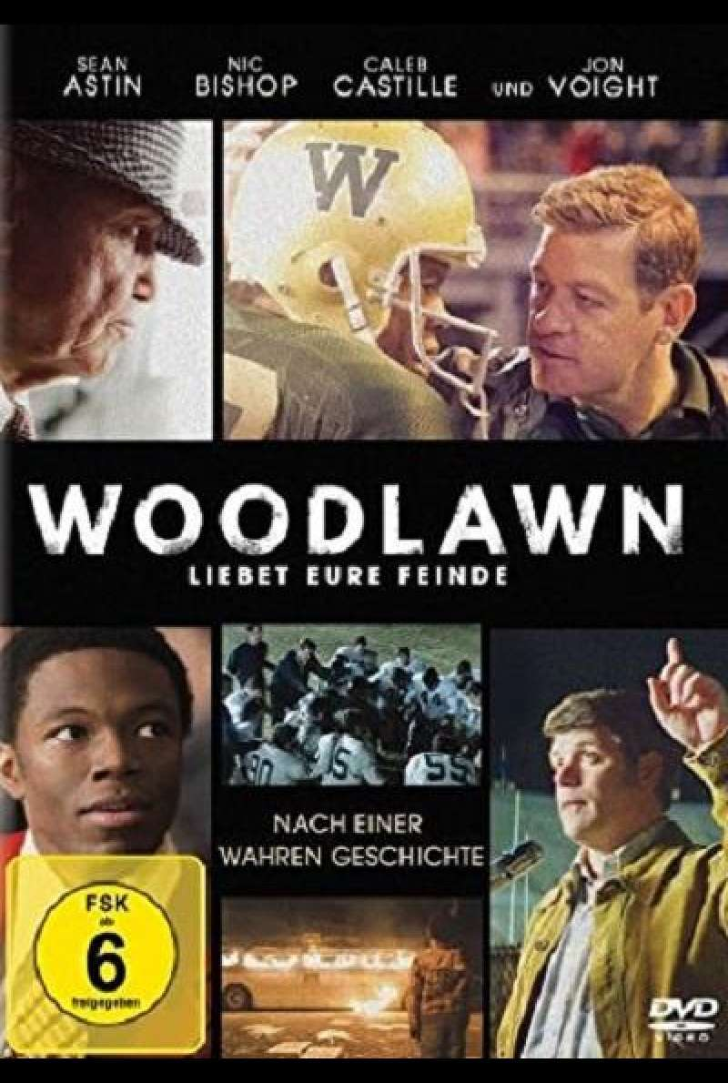 Woodlawn - Liebet eure Feinde - DVD-Cover