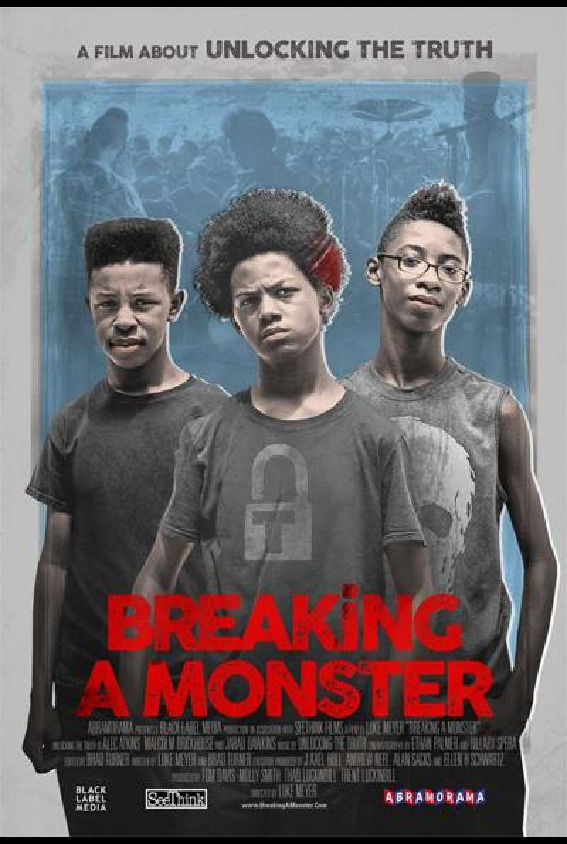 Breaking a Monster von Luke Meyer - Filmplakat (US)