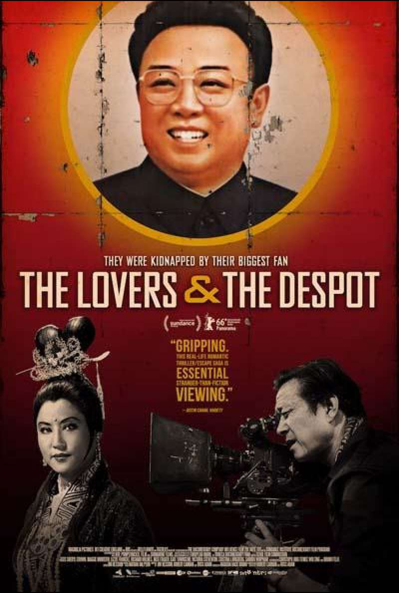 The Lovers and the despot von Ross Adam und Robert Cannan - Filmplakat