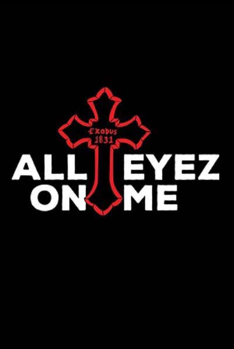 All Eyez on Me von Benny Boom - Filmplakat