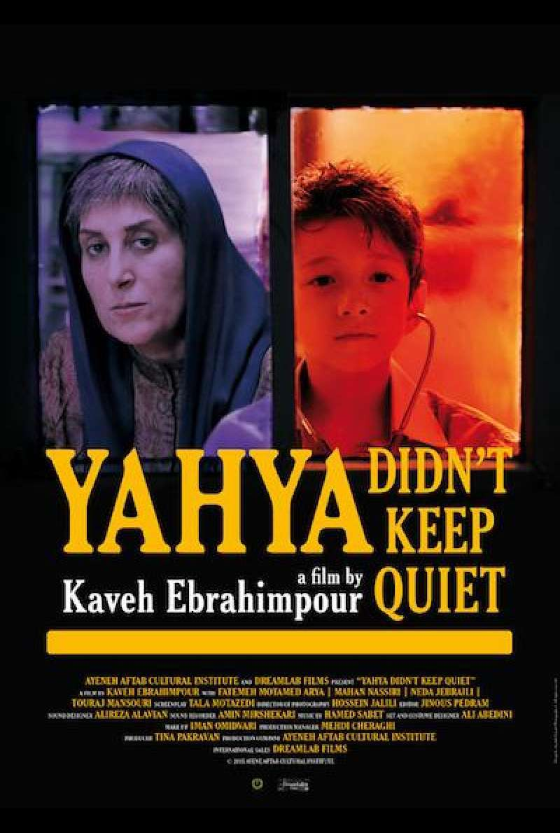 Yahya Didn't Keep Quiet  von Kaveh Ebrahimpour - Filmplakat (INT)