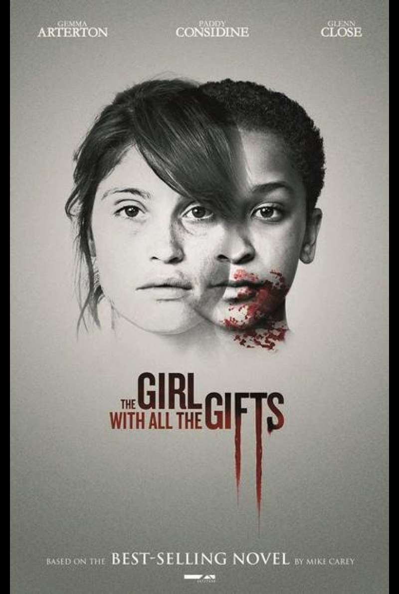 The Girl With All the Gifts  von Colm McCarthy - Filmplakat
