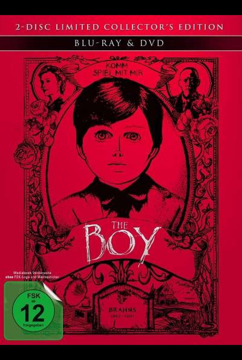 The Boy - Mediabook (Blu-ray + DVD)