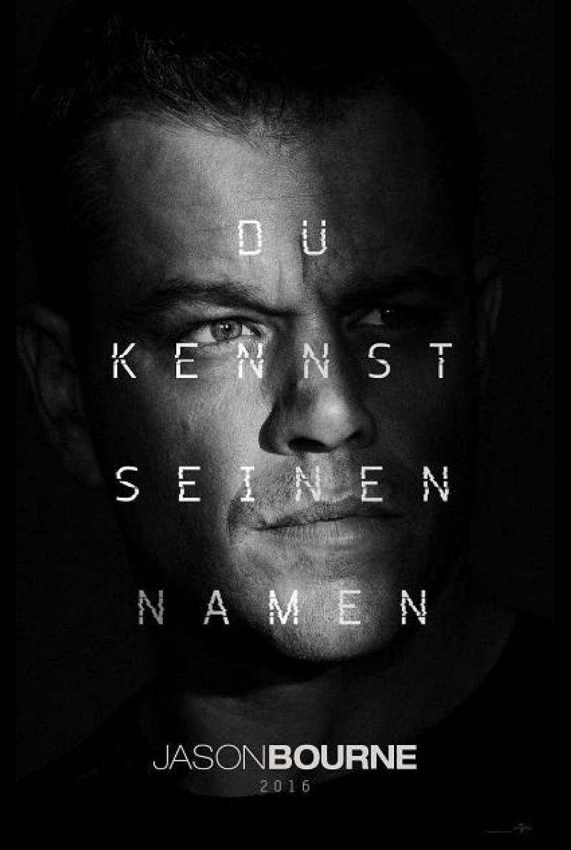 Jason Bourne - Teaserplakat