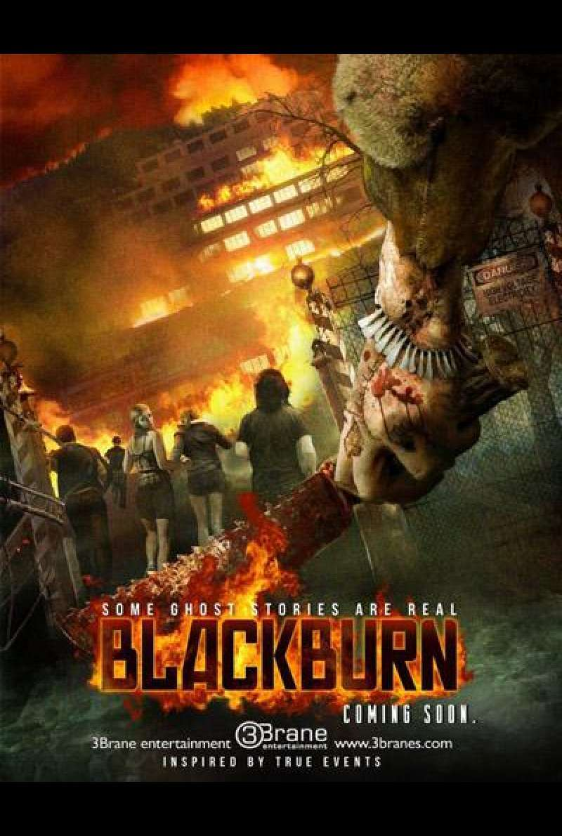 Blackburn von Lauro Chartrand - Filmplakat