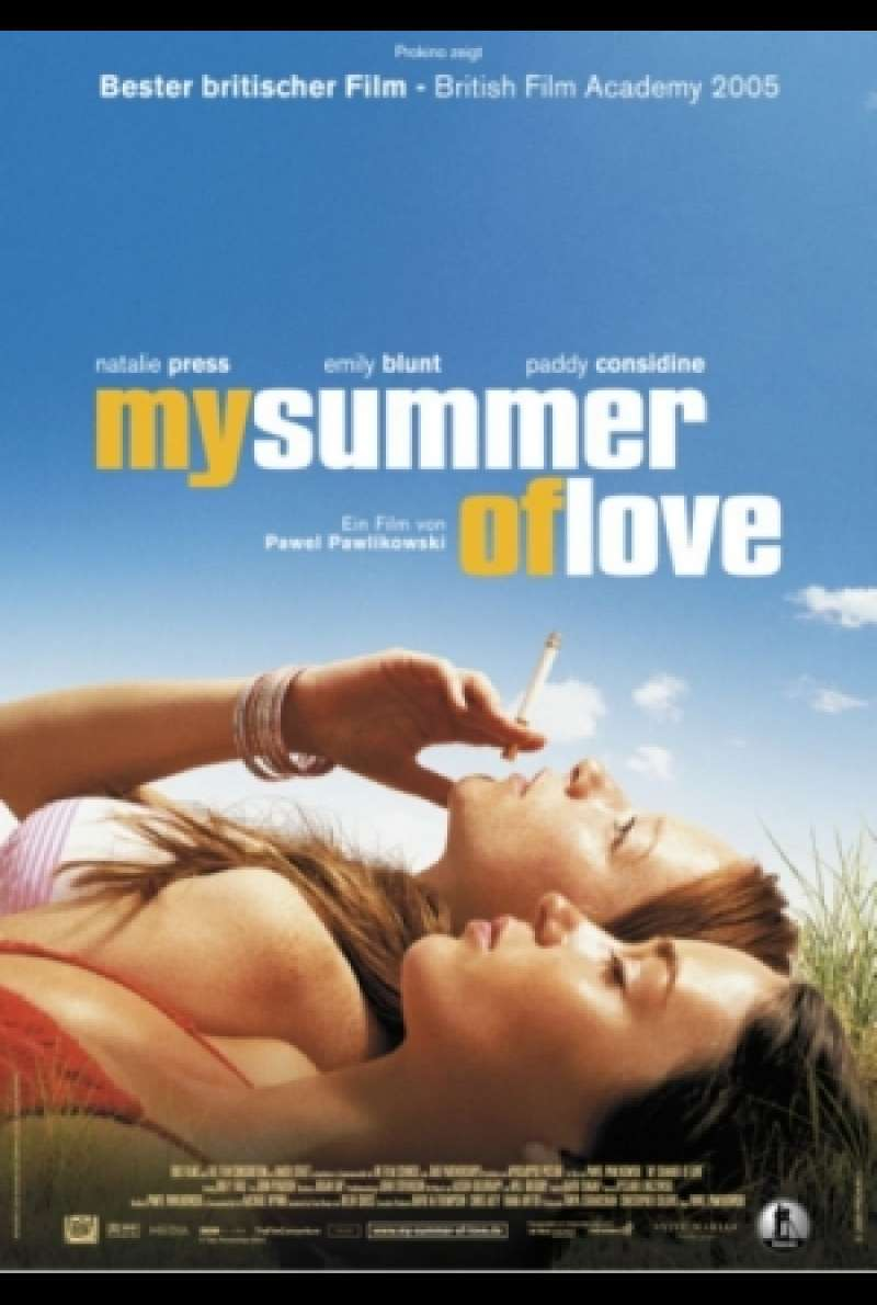 My Summer Of Love - Filmplakat