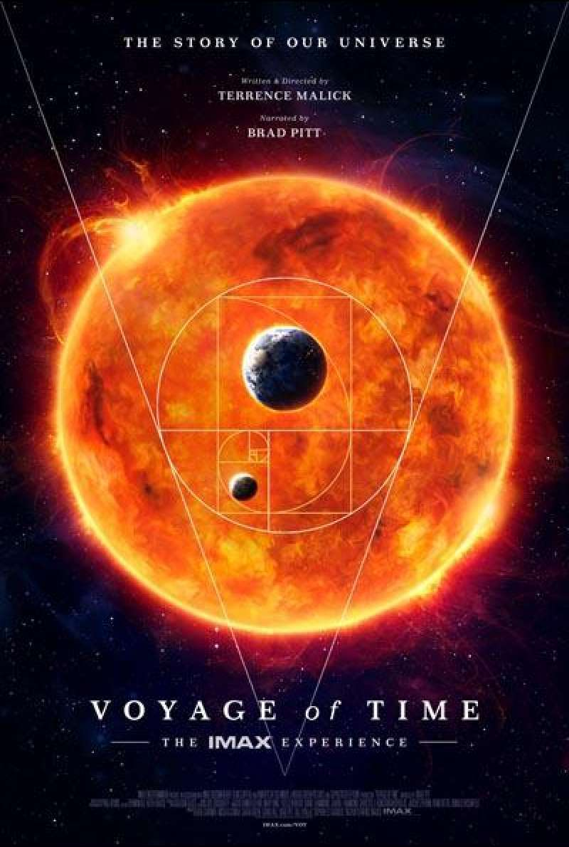 Voyage of Time von Terrence Malick - Filmplakat