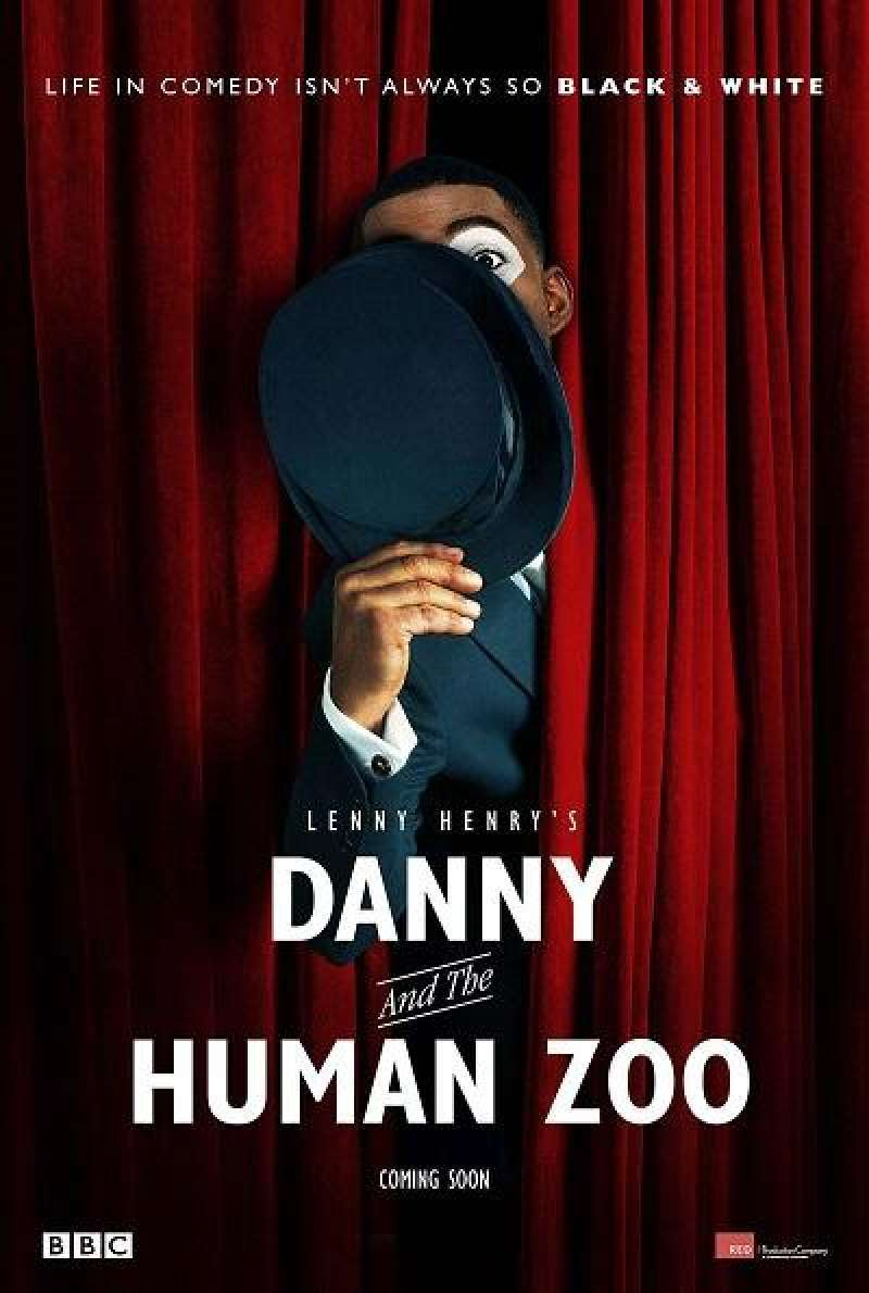 Danny and the Human Zoo - Filmplakat (UK)