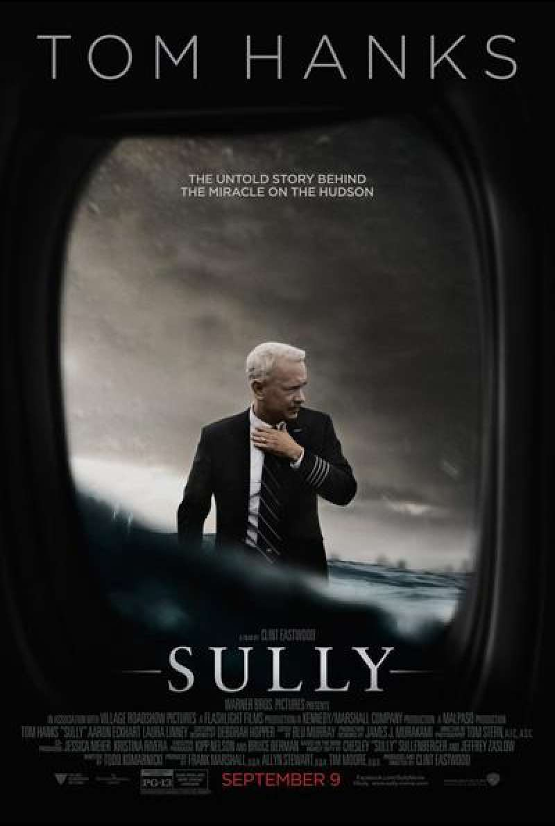 Sully von Clint Eastwood - Filmplakat