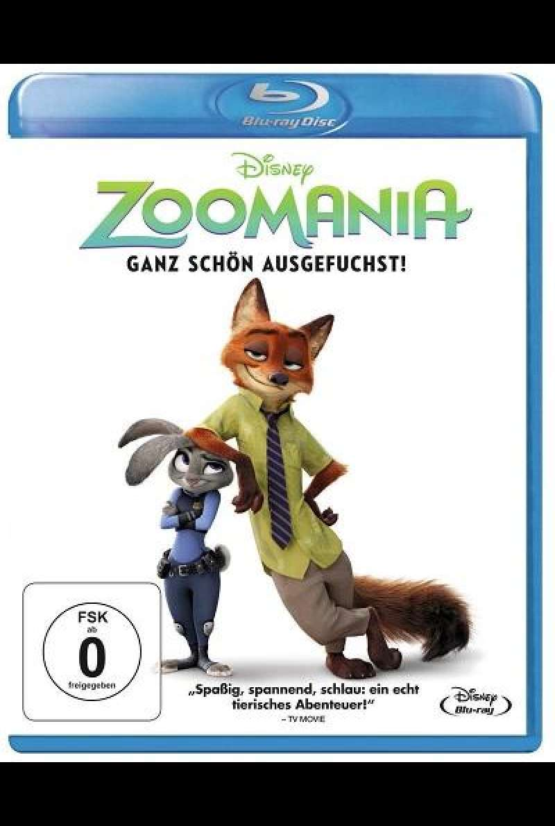 Zoomania - Blu-ray-Cover