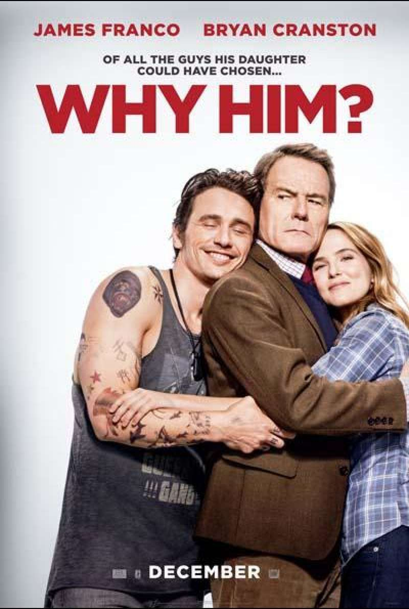 Why Him? von John Hamburg - Filmplakat