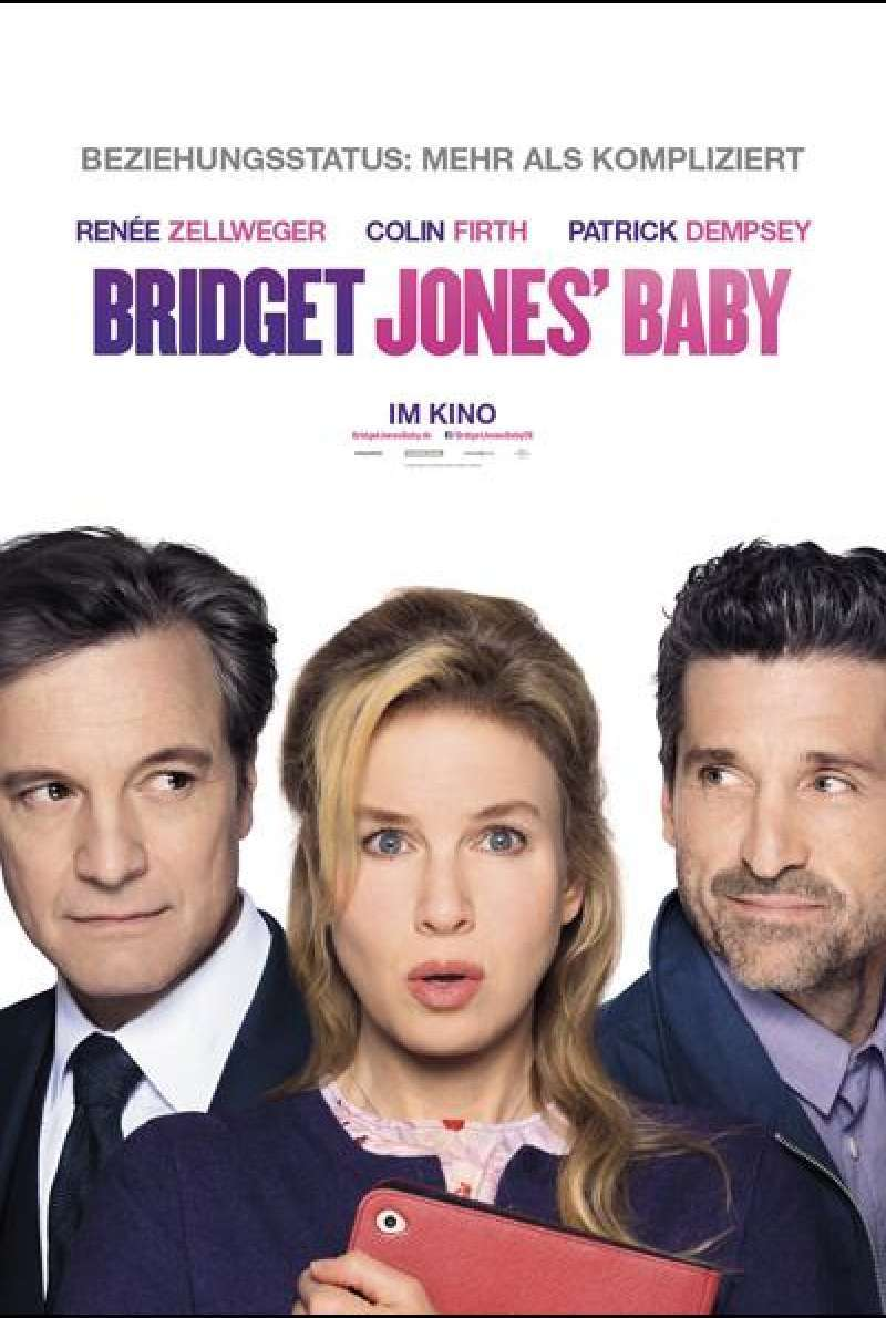 Bridget Jones' Baby von Sharon Maguire - Filmposter