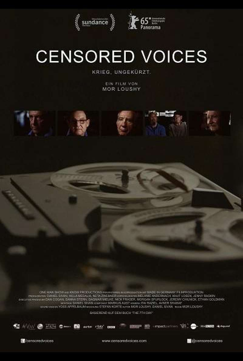 Censored Voices - Filmplakat