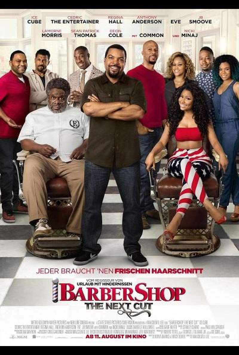 Barbershop: The Next Cut - Filmplakat