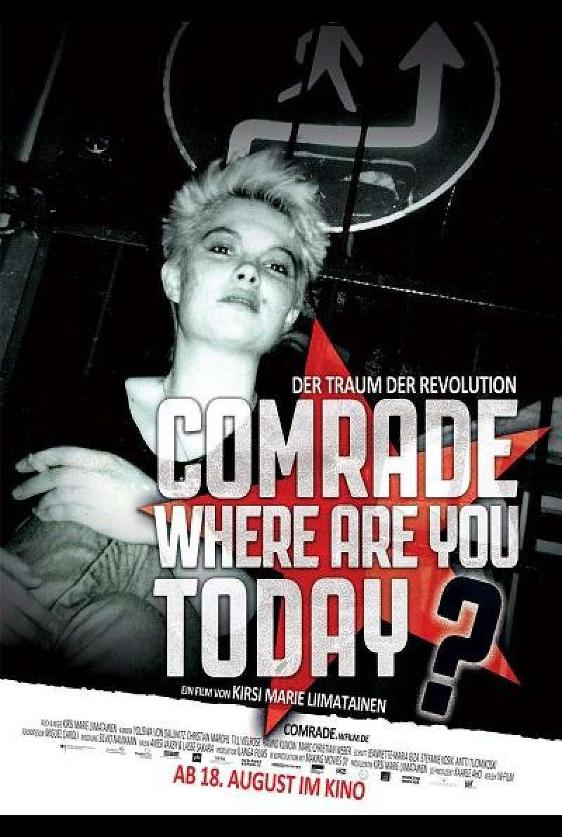 Comrade, where are you today? - Filmplakat