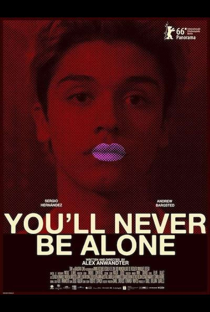 You'll never be alone - Filmplakat (INT)