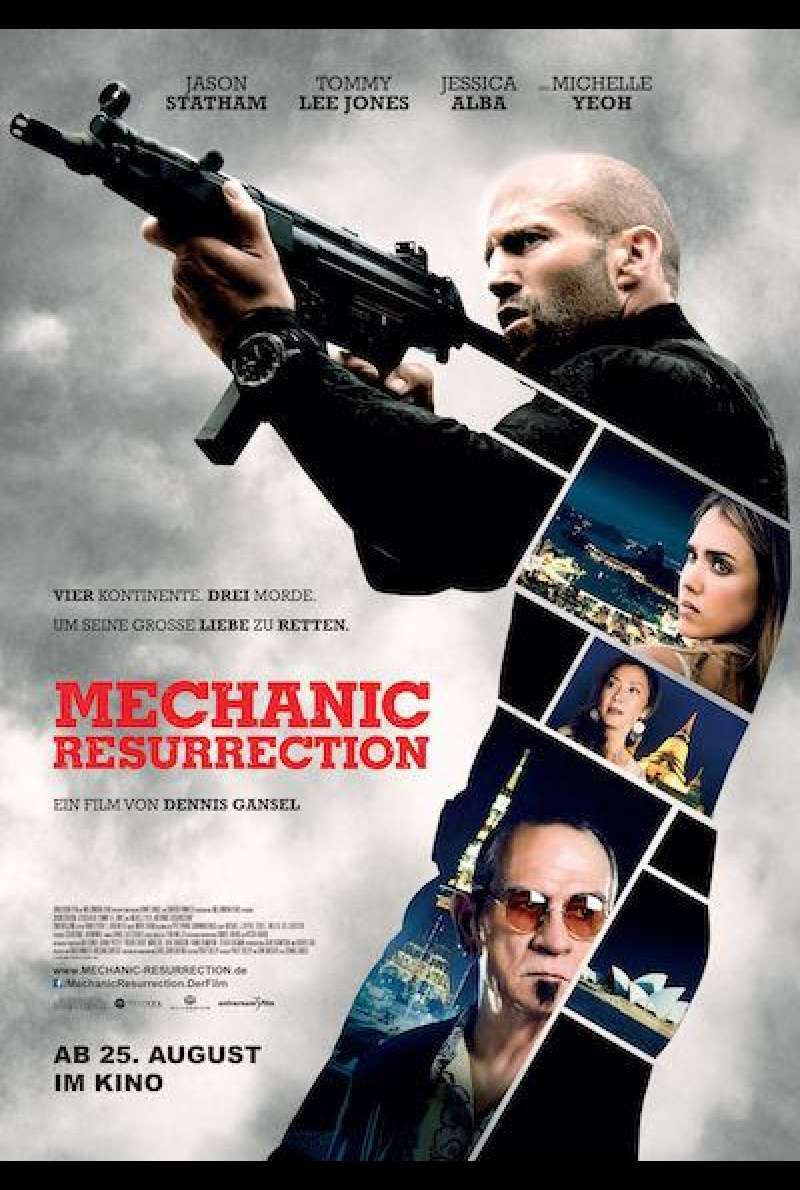 The Mechanic 2 - Resurrection von Dennis Gansel - Filmplakat