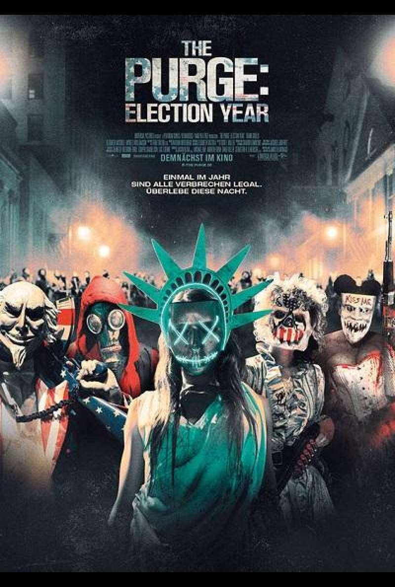 The Purge: Election Year - Filmplakat