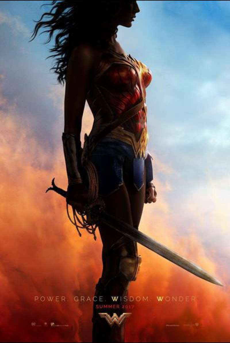 Wonder Woman von Patty Jekins - Filmplakat (US)