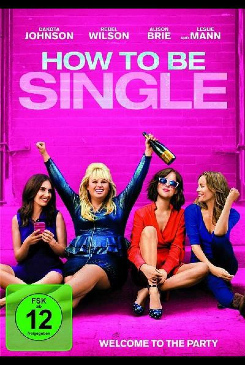 How to be Single - DVD-Cover