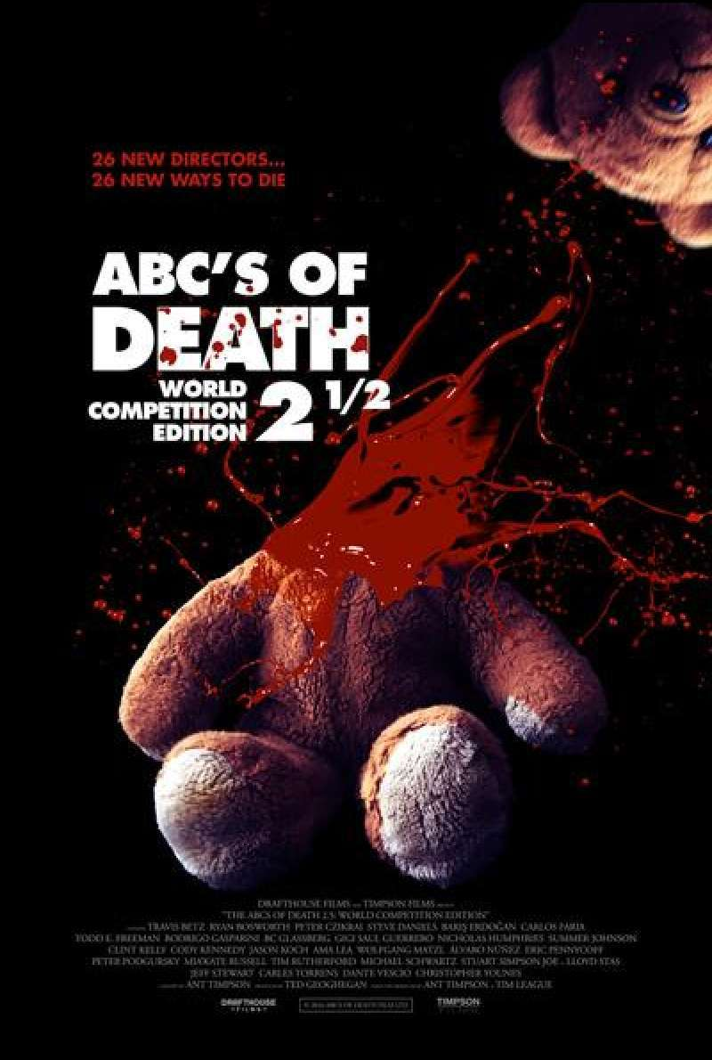 ABCs of Death 2.5 - Filmplakat
