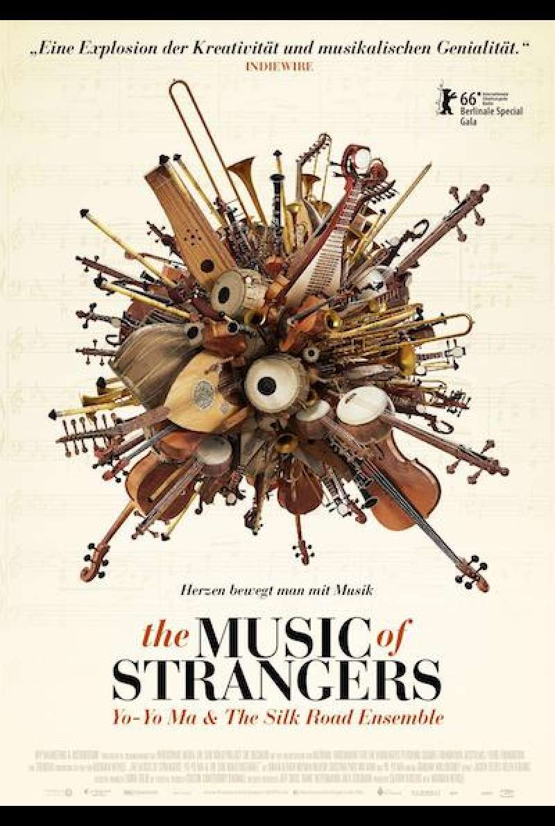The Music of Strangers: Yo-Yo Ma and the Silk Road Ensemble von Morgan Neville - Filmplakat