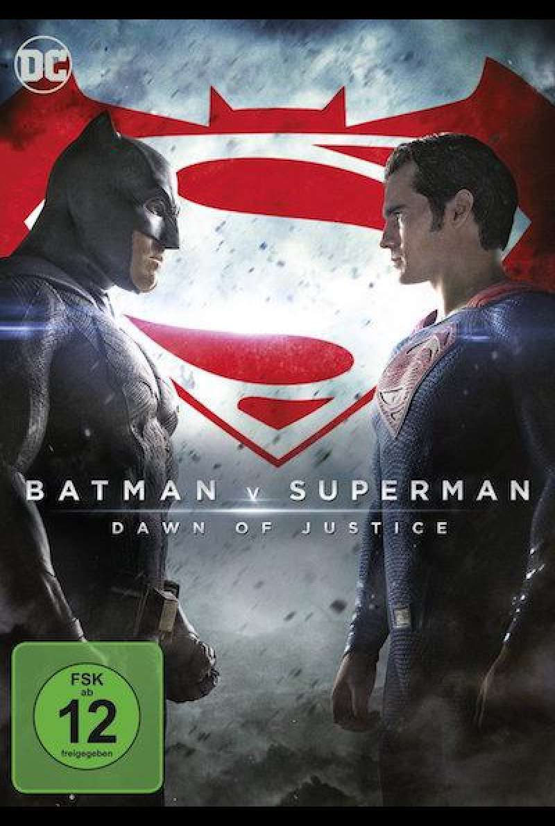 Batman v. Superman: Dawn of Justice von Zack Snyder - DVD-Cover