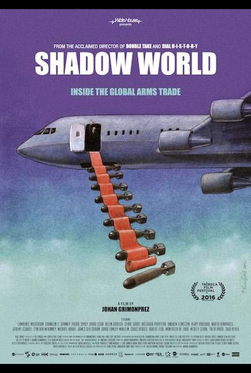 Shadow World von Johan Grimonprez - Filmplakat