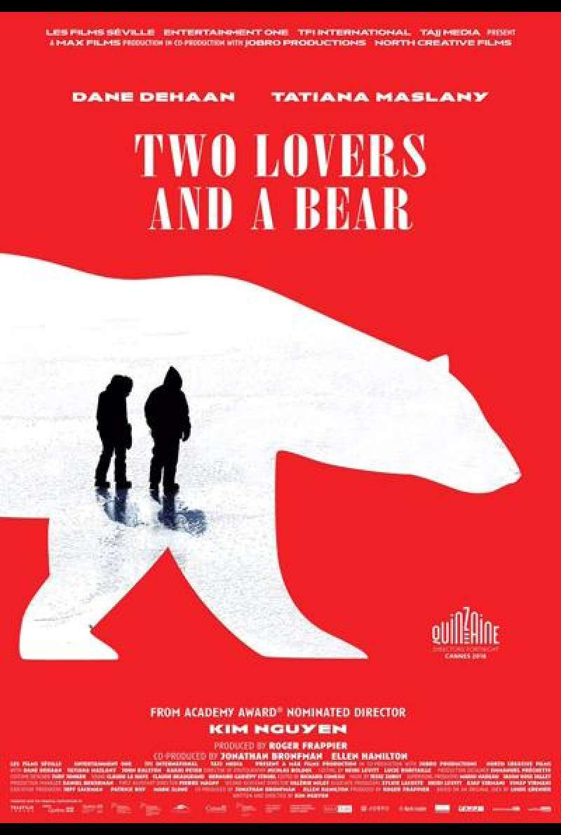 Two Lovers and a Bear von Kim Nguyen - Filmplakat