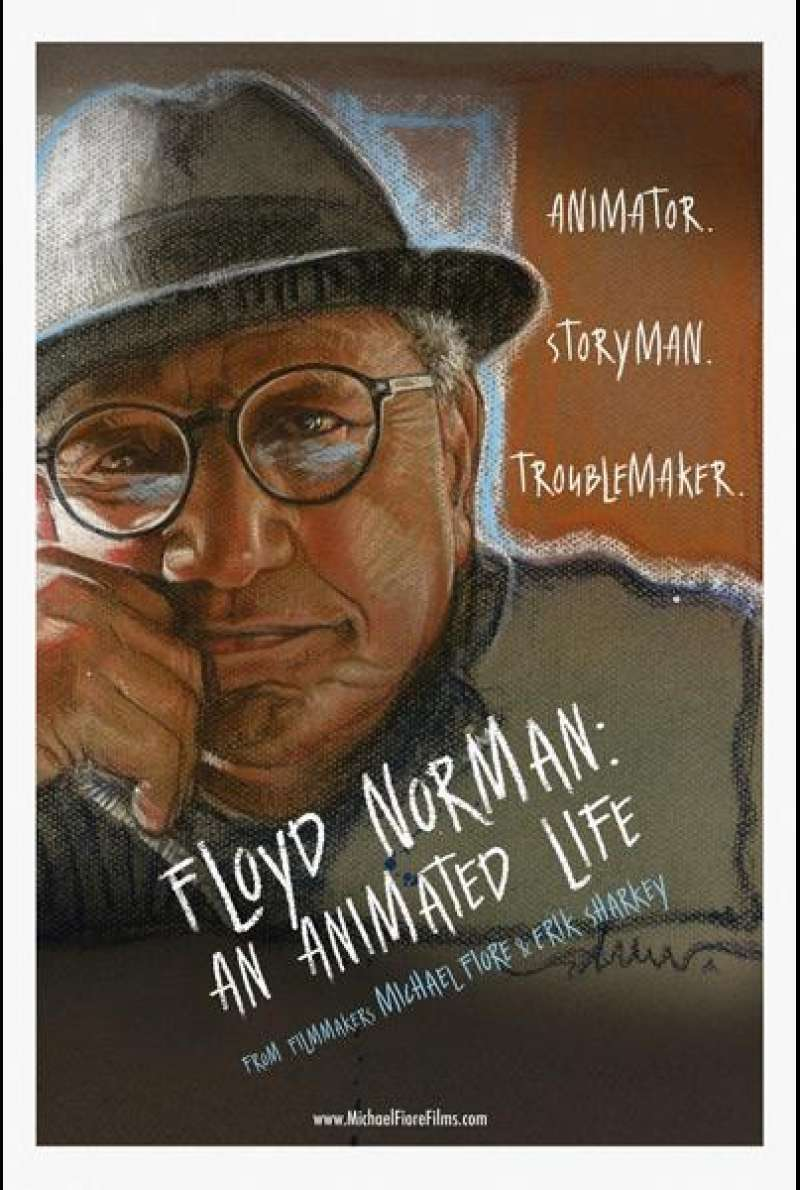 Floyd Norman: An Animated Life von Michael Fiore und Erik Sharkey  - Filmplakat