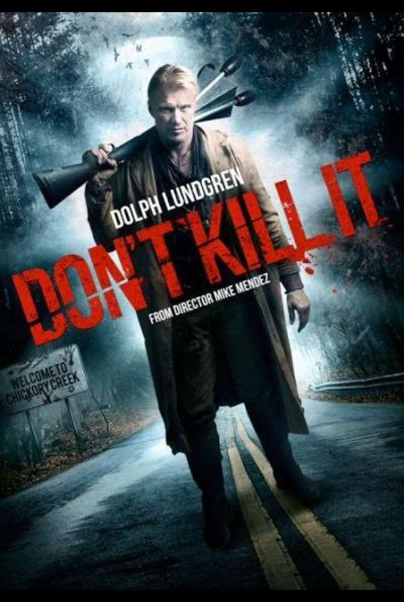 Don't Kill It von Mike Mendez - Poster