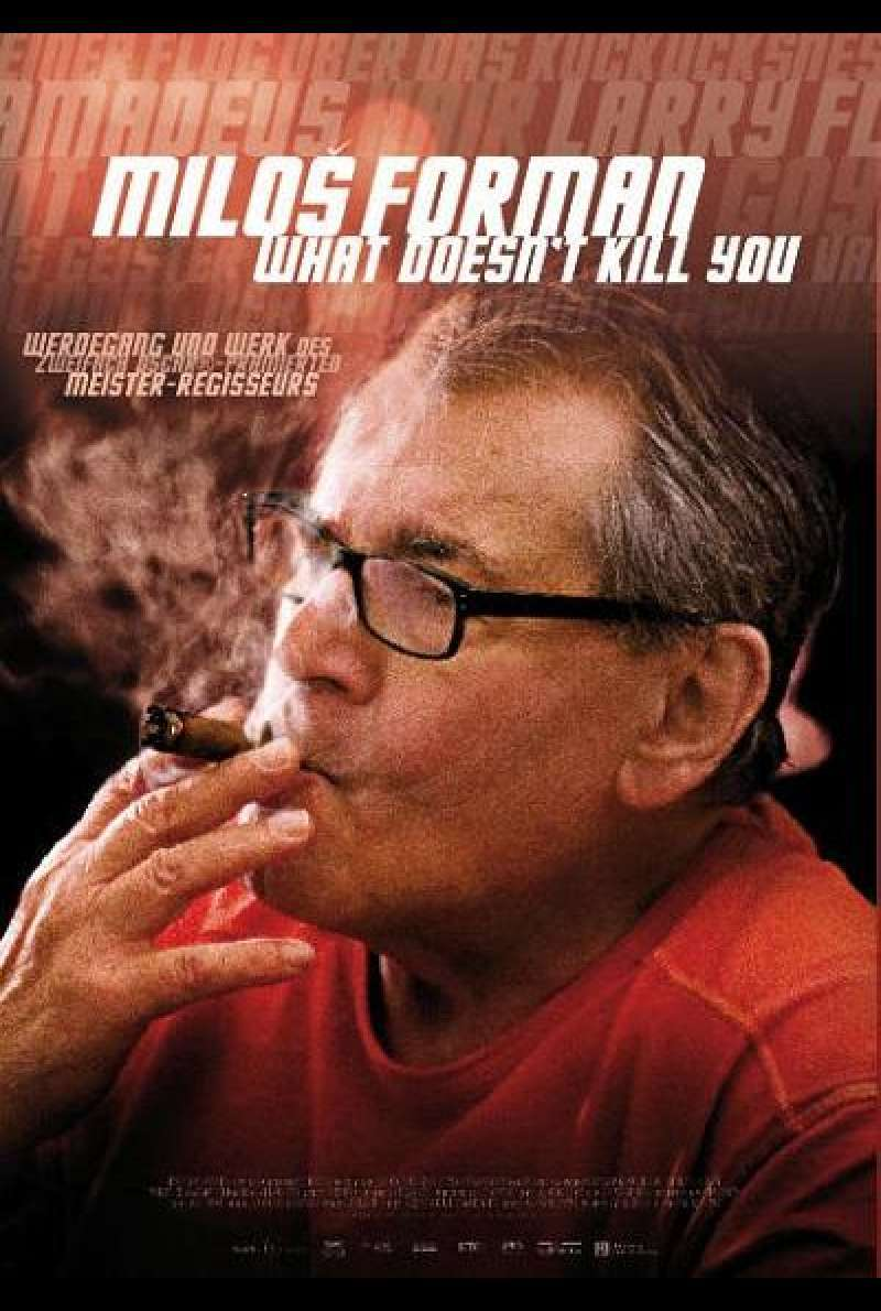 Milos Forman - What Doesn't Kill You - Filmplakat