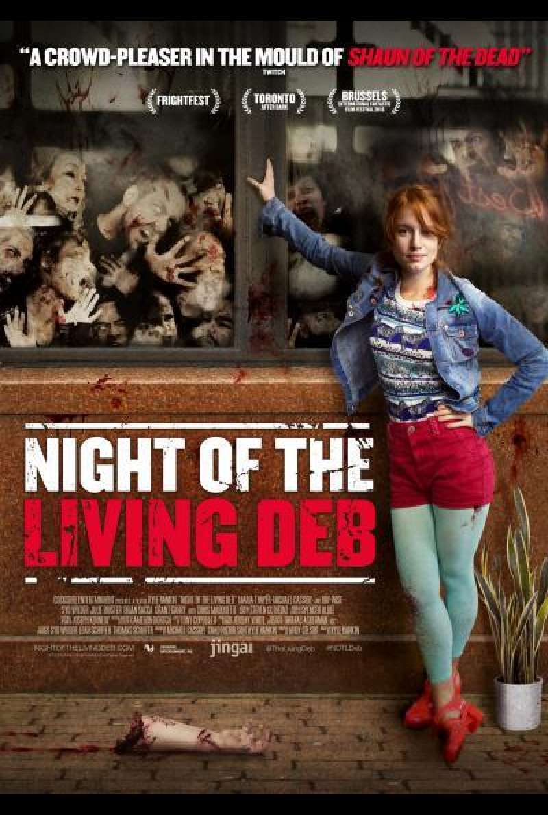 Night of the Living Deb von Kyle Rankin - Filmplakat
