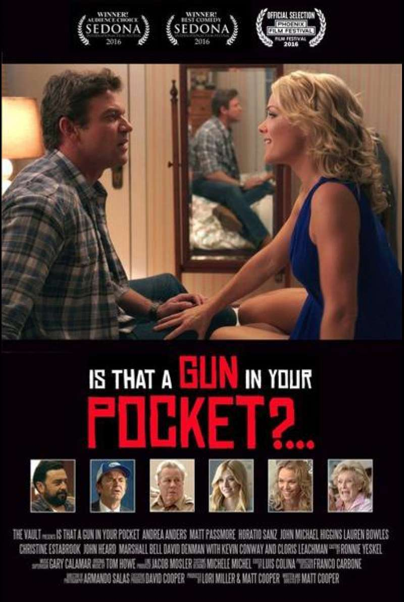 Is That a Gun in Your Pocket? von Matt Cooper - Filmplakat