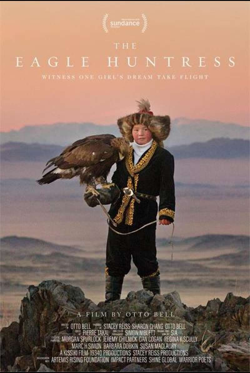 The Eagle Huntress von Otto Bell - Filmplakat
