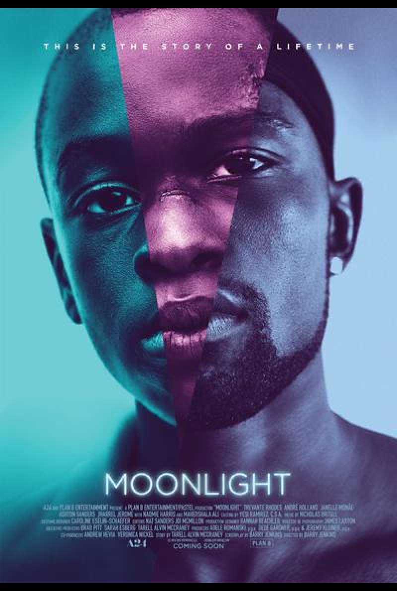 Moonlight von Barry Jenkins - Filmplakat
