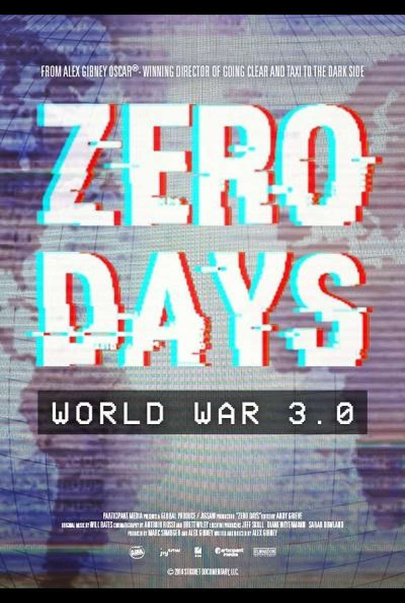 Zero Days - Filmplakat (US)