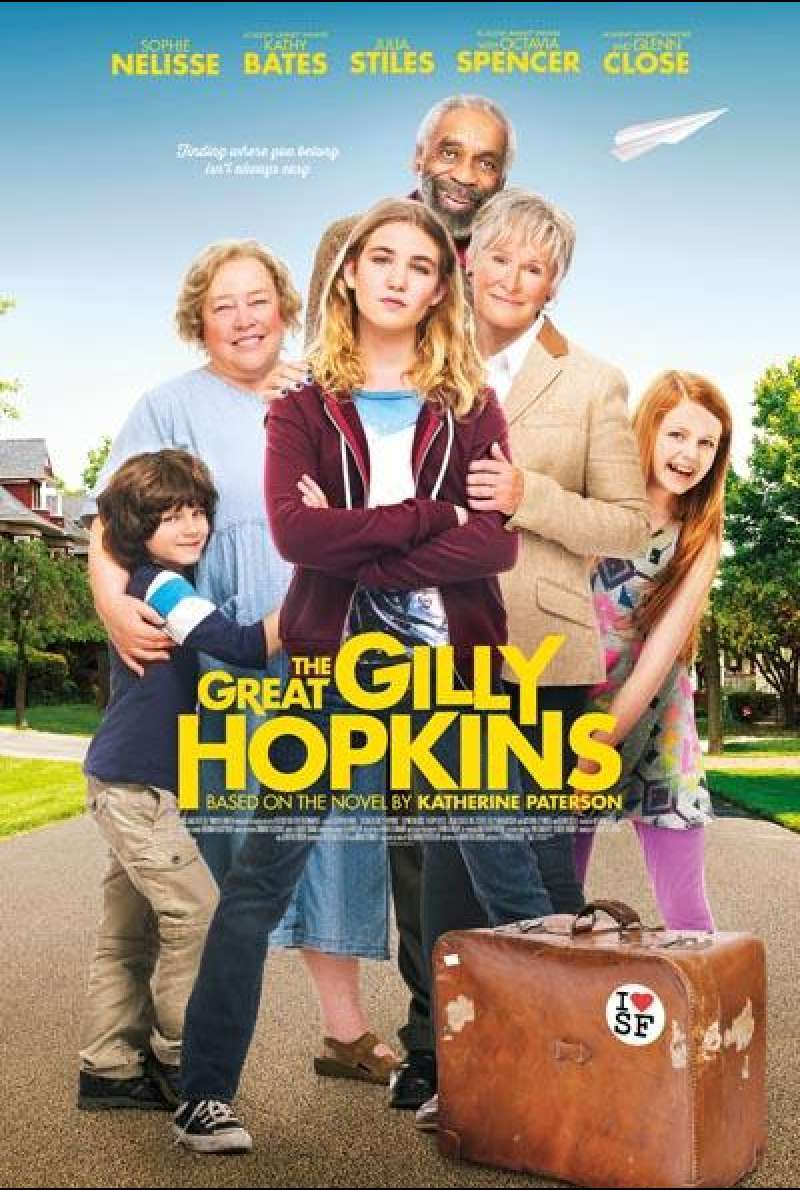 The Great Gilly Hopkins von Stephen Herek - Filmplakat (US)